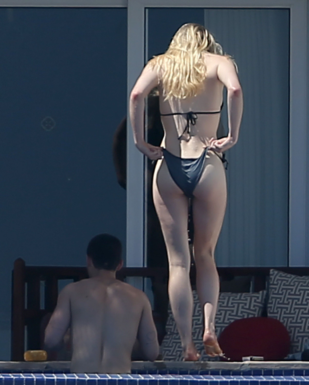Sophie Turner – First Time In Bikini