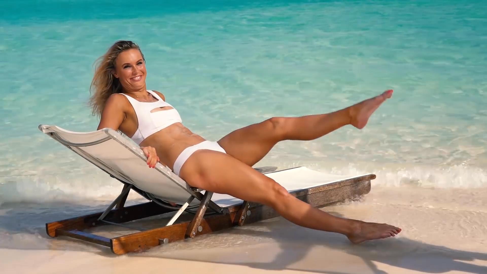 Caroline Wozniacki – Outtakes SI Swimsuit 2017