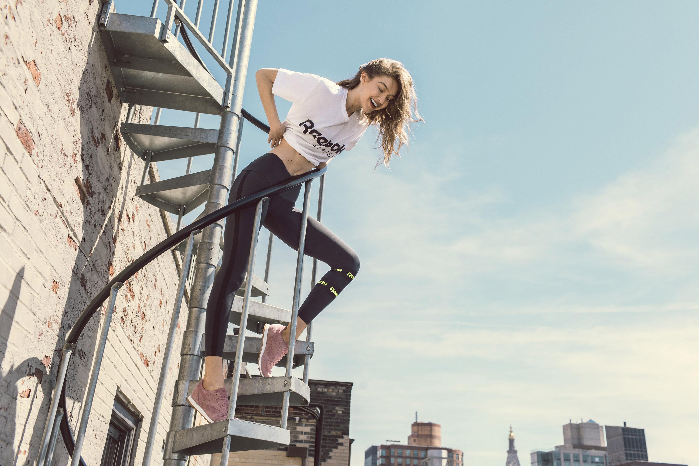 Gigi Hadid – Reebok July 2017