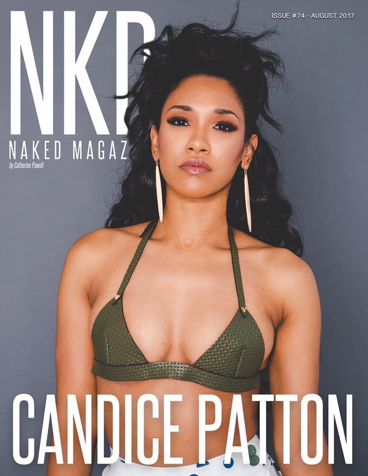 Candice Patton NKD Mag Album