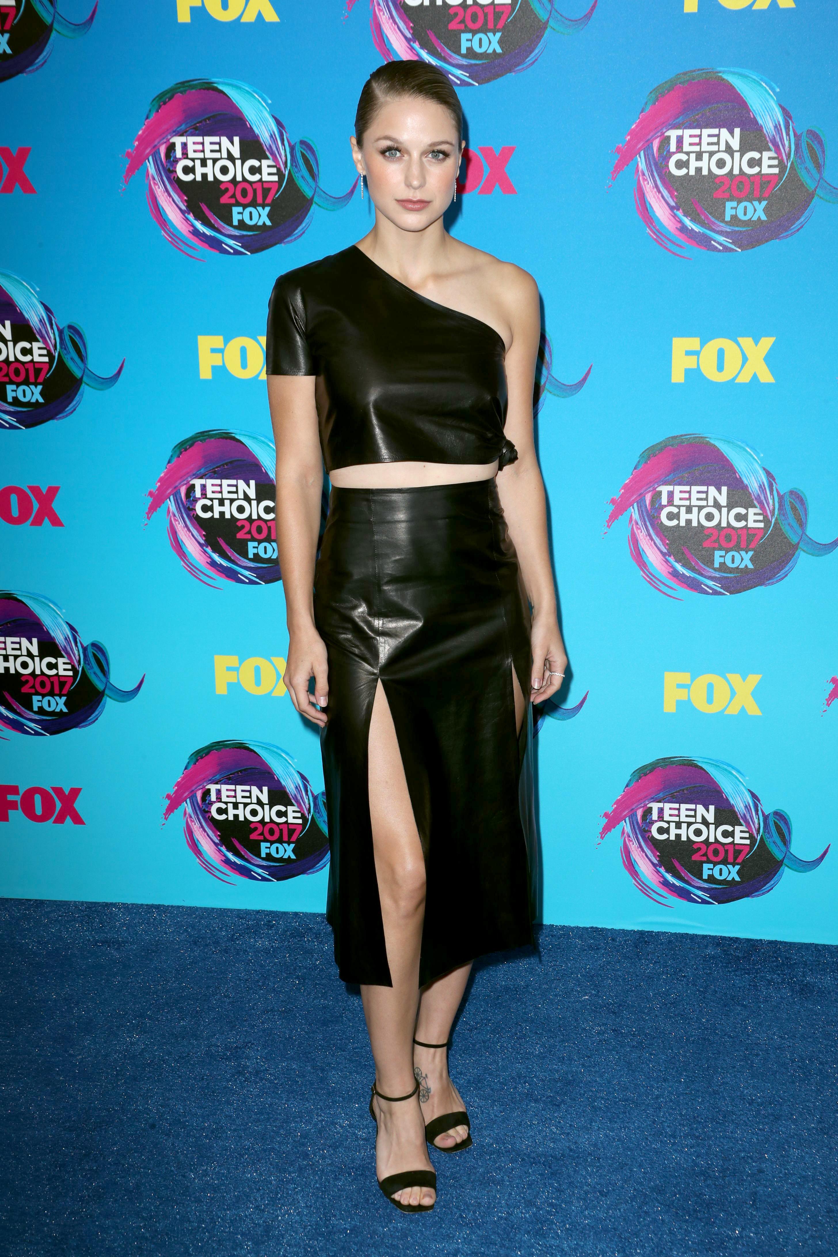 Melissa Benoist At The Teen Choice Awards