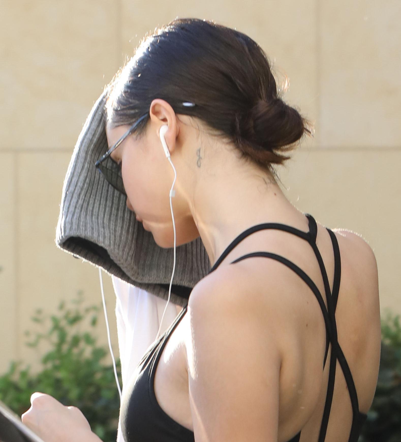 Selena Gomez – Leaving Hot Pilates