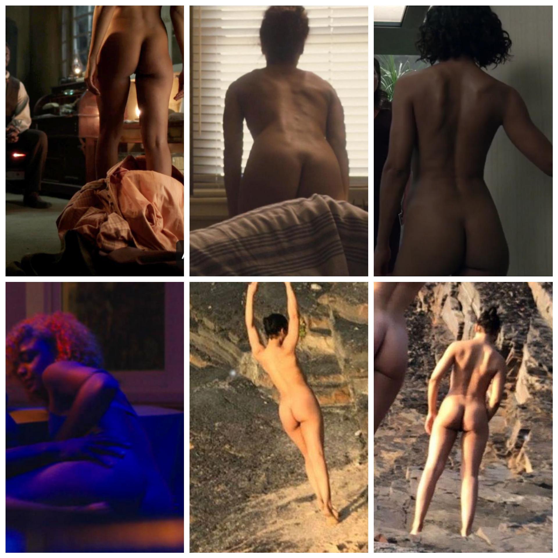 Tessa Thompson Ass Collage