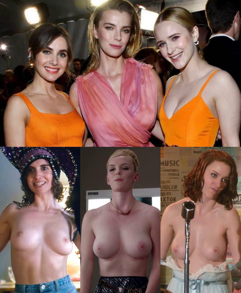 Brosnahan boobs rachel Jennifer Aniston