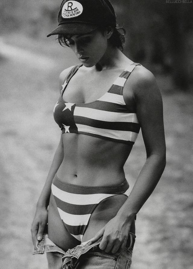 Young Monica Bellucci