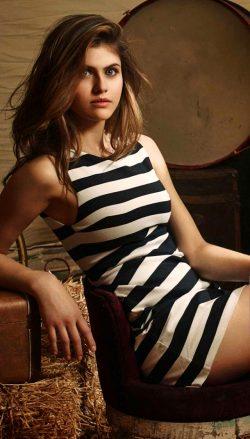 Alexandra D'addario— Gorgeous In Stripes 🔥🔥🔥