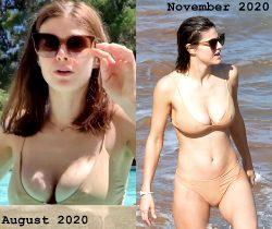 Alexandra Daddario's Year Of Pokies