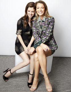 Anna Kendrick & Blake Lively