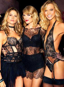 Behati Prinsloo, Taylor Swift & Karlie Kloss