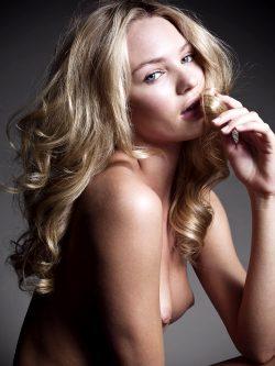 Candice Swanepoel's Pierced Nipple