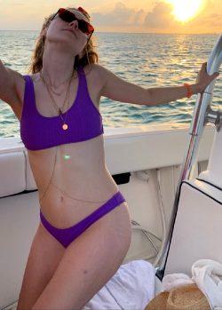 Dakota Fanning Bikini Candids