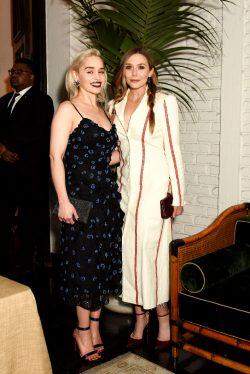 Emilia Clarke And Elizabeth Olsen