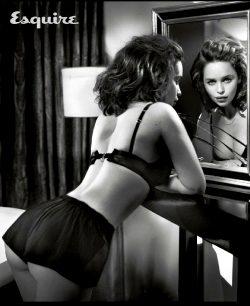 Emilia Clarke Barely Clothed
