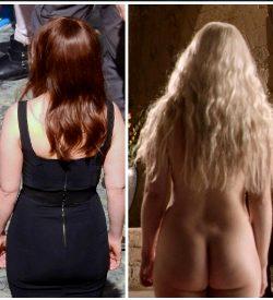 Emilia Clarke's Peachy Bossom