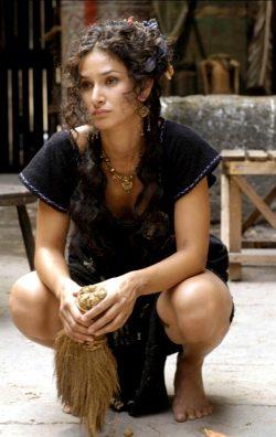 Indira Varma In HBOs Rome