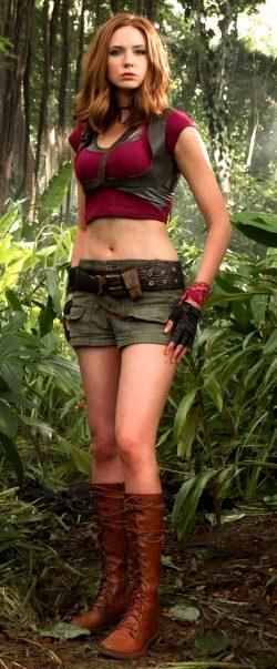 Karen Gillan As Ruby In Jumanji : Welcome To The Jungle