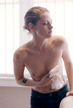 Kristen Stewart Tit Bounce