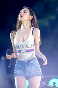 Lee Sun-mi Completely Wet
