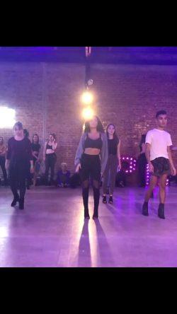 Madison Pettis Dancing