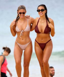 Natasha Oakley And Devin Brugmen Bikini