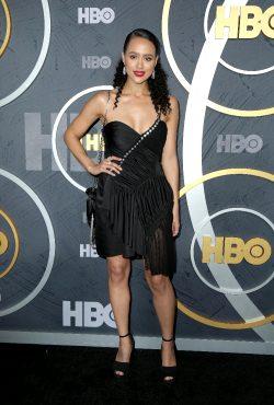 Nathalie Emmanuel At The HBO Emmy After Party