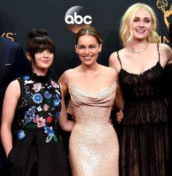 Rank The G.O.T Girls Maisie Williams, Emilia Clarke, Sophie Turner